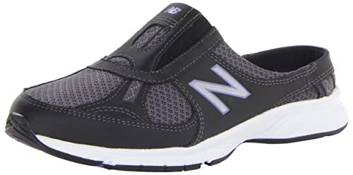 Zapatillas para caminar WW520 para mujer, negras / moradas, 5.5 B US: Amazon.es: Zapatos y complementos