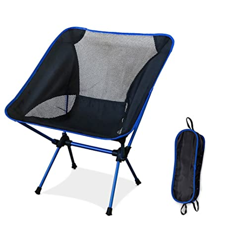 Merveilleux Ultralight Folding Camping Chairs, Portable Compact Breathable Outdoor  Chairs With A Carry Bag For Outdoor
