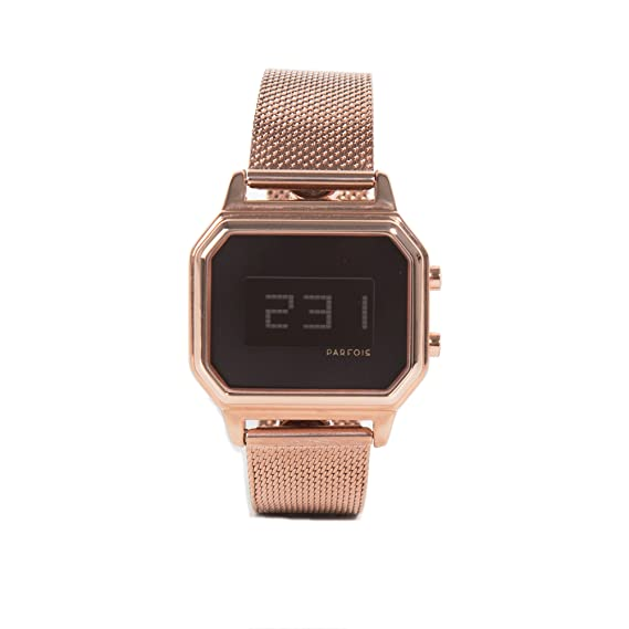 Parfois - Relojes Relojes Metal Dorado - Mujeres - Tallas M - Dorado: Amazon.es: Relojes