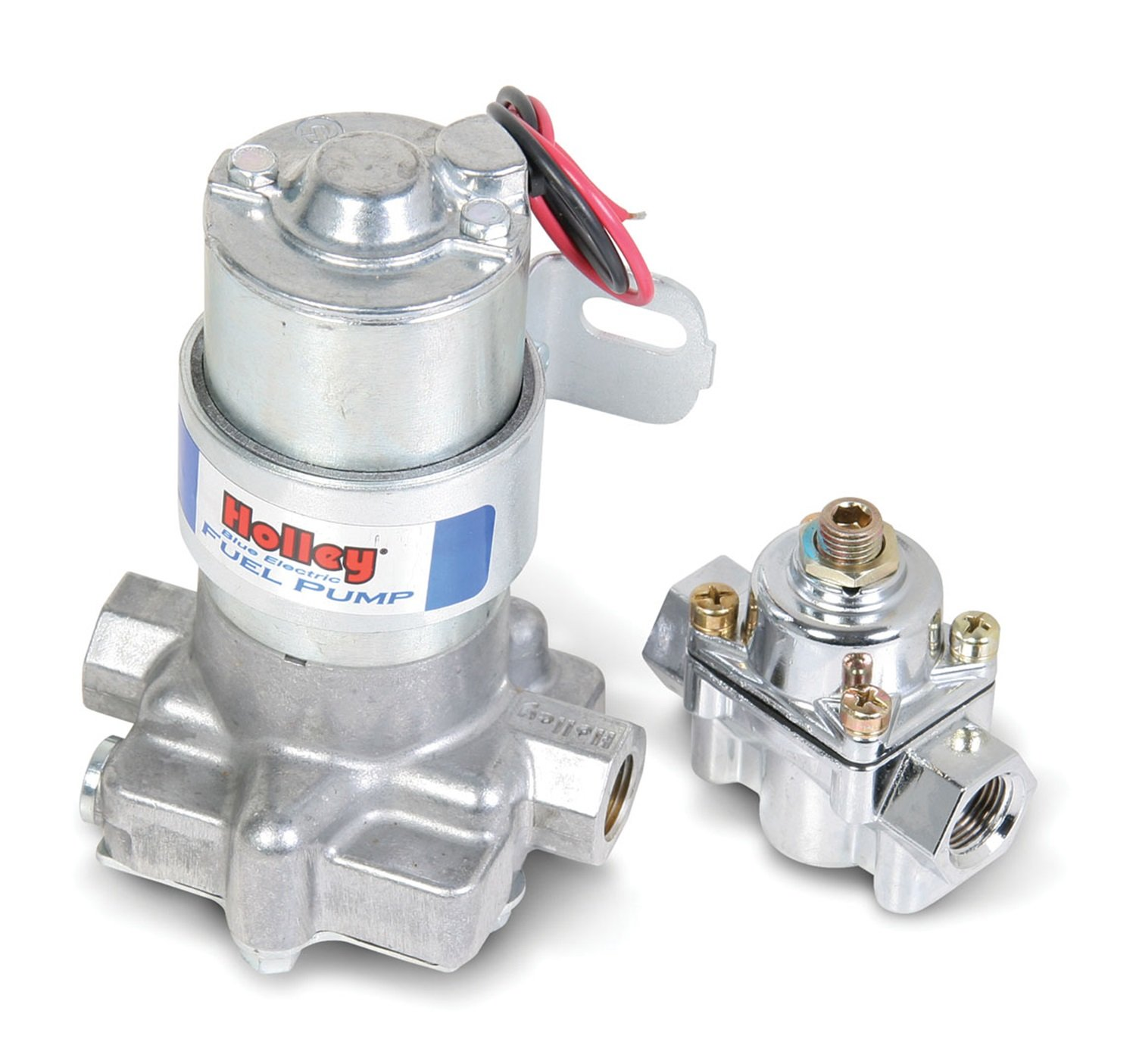 2. Holley L12-802-1 Electric Fuel Pump with Regulator