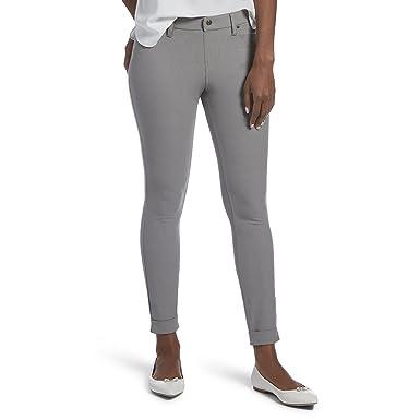 898feb7fa50a HUE Women s Plus Size Cuffed Essential Denim Skimmer Leggings at ...