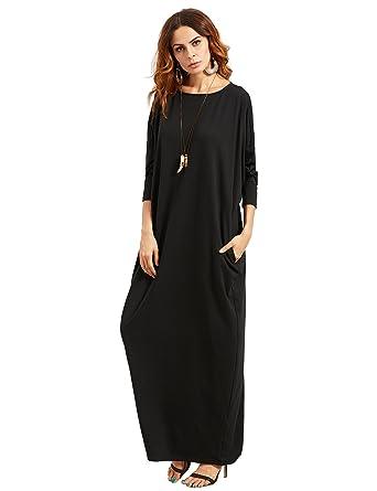 Verdusa Womens Casual Long Sleeve Oversized Loose Pocket Plus Size