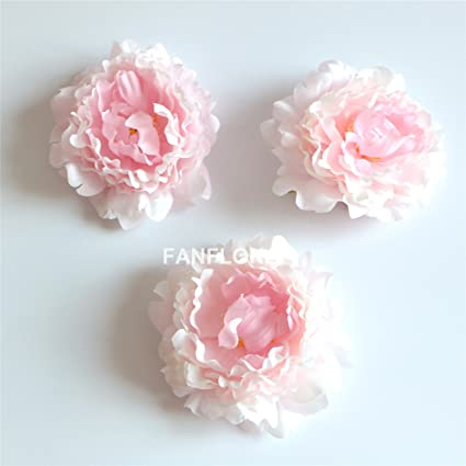 Amazon fanflona wholesale silk flowers artificial peony flower fanflona wholesale silk flowers artificial peony flower heads 100 bulk for wedding backdrop centerpieces cake topper mightylinksfo