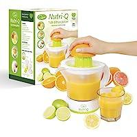 Nutri-Q 34210 Electric Quick Press Citrus Jug Juicer, 40 W, 1.2 liters