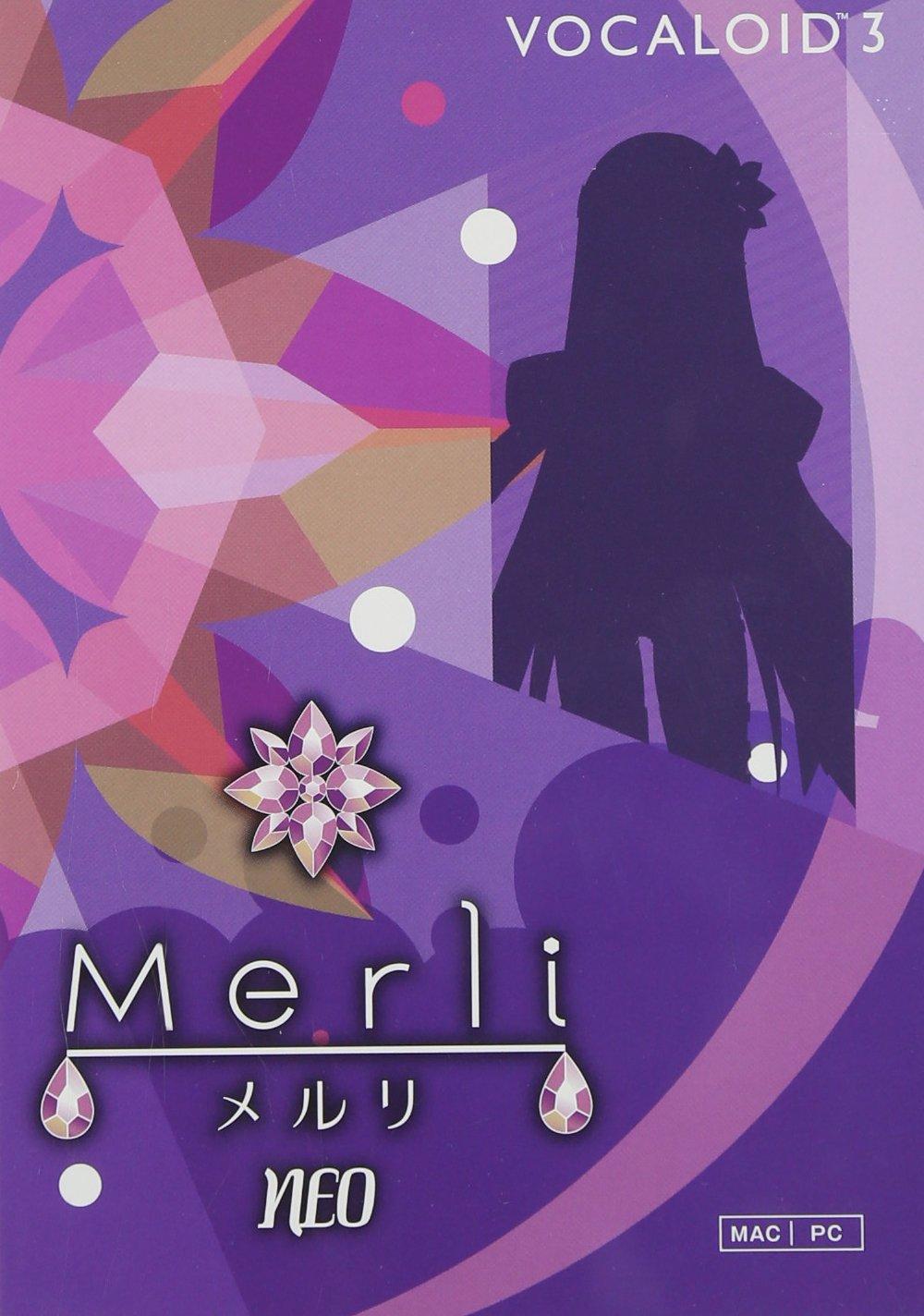 YAMAHA VOCALOIDTM3 Library Merli NEO (boxed version)