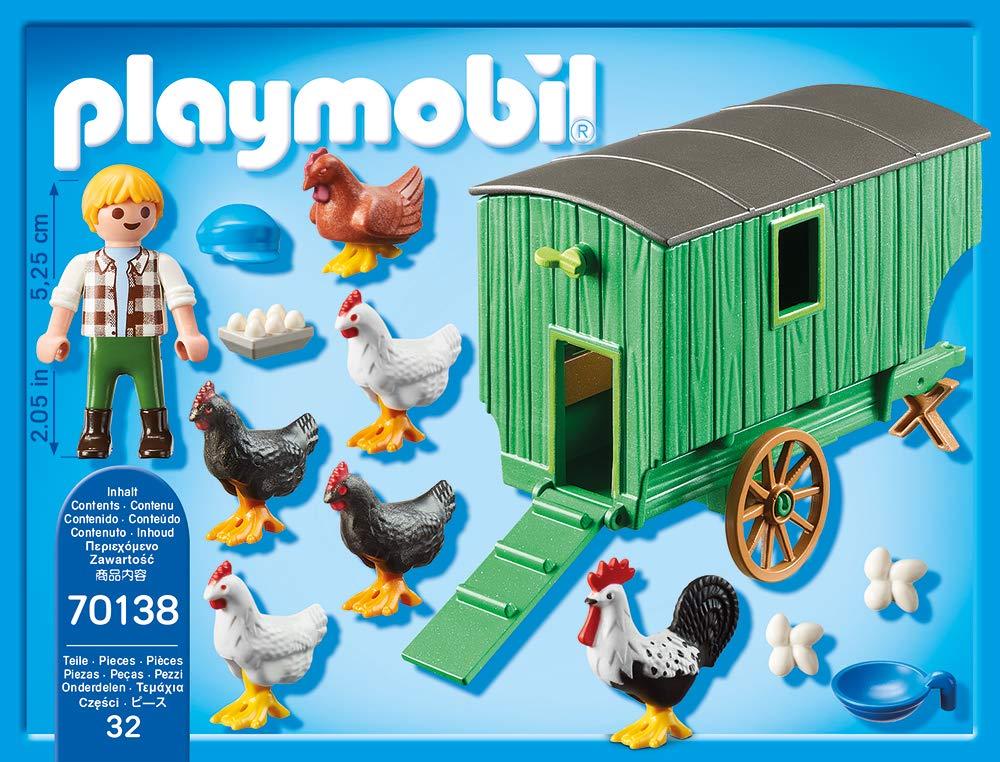 Playmobil 70138 Country Mobiles Gallinas hogar: Amazon.es: Juguetes y juegos