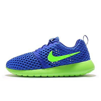 promo code a2709 9cc93 NIKE Roshe One Flight Weight (GS) Youth Sneaker (5.5 M US Big Kid, Blue Green)