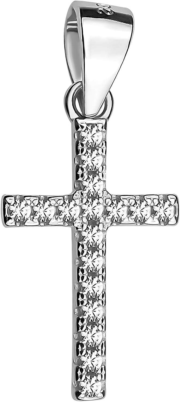 SOFIA MILANI Colgante Mujer Cruz Crucifijo Plata de Ley 60255