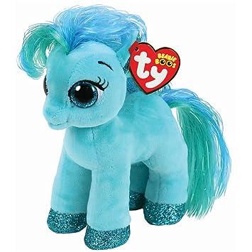 dc3a83f7821 Ty Topaz pony - Blue-green - 15 cm  Amazon.co.uk  Toys   Games