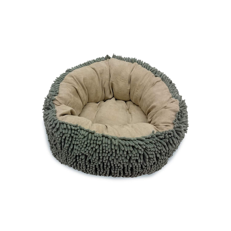 Ethical Pets 18  Sage Tan Sleep Zone Reversible Infinity Dog Bed