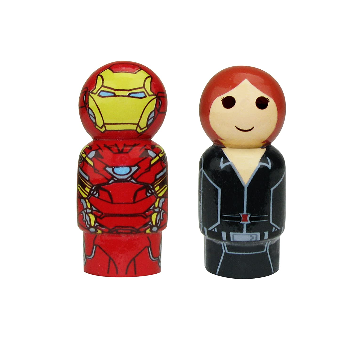 Captain America Civil War Iron Man /& Black Widow Pin Mate Set of 2 Collectible Bif Bang Pow 2 2 EE Distribution BBP24900A1AMZ