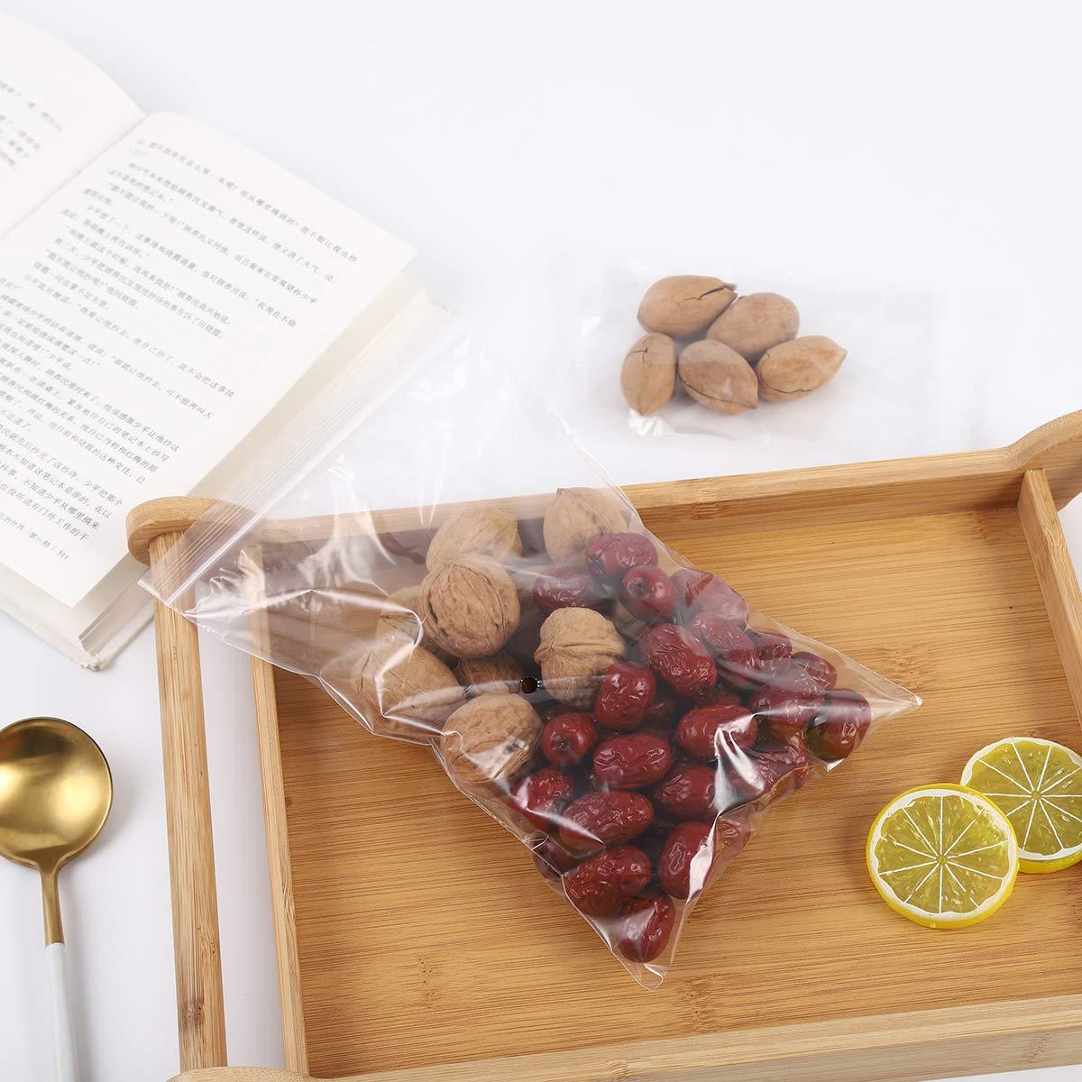 ZULANI Small Resealable Plastic Bags 3