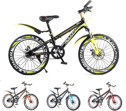 SJSF Y Bicicleta BTT Bicicleta para Niños 18IN, Freno Doble De ...