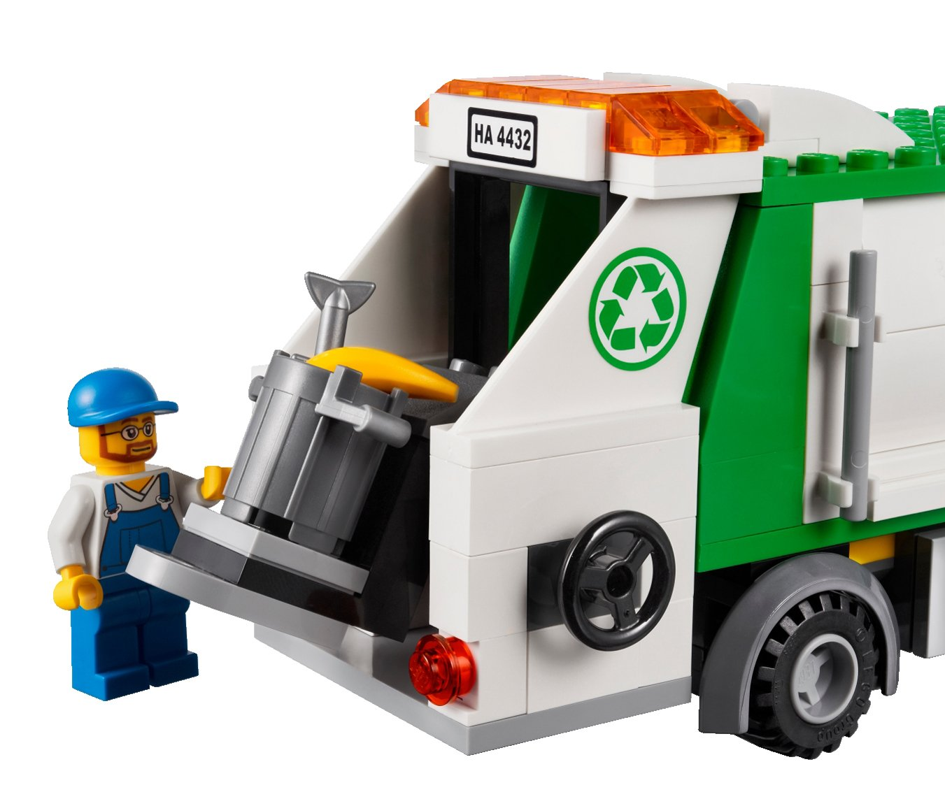 lego city 4432 garbage truck amazoncouk toys games - Camion Lego