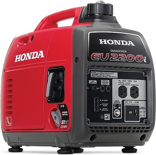 Amazon.com : Honda EU2200i 2200-Watt 120-Volt Super Quiet Portable Inverter Generator : Garden & Outdoor