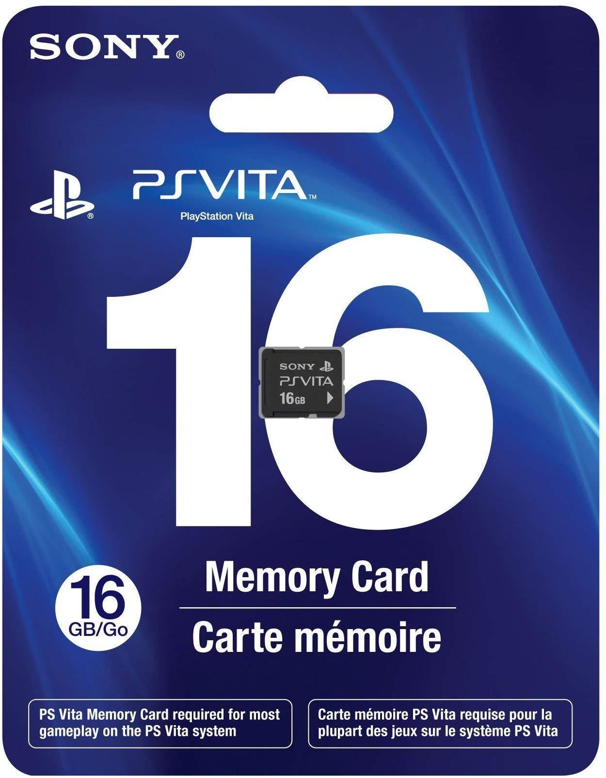 16GB Memory Card PS Vita (Accessories) (Renewed) by Sony