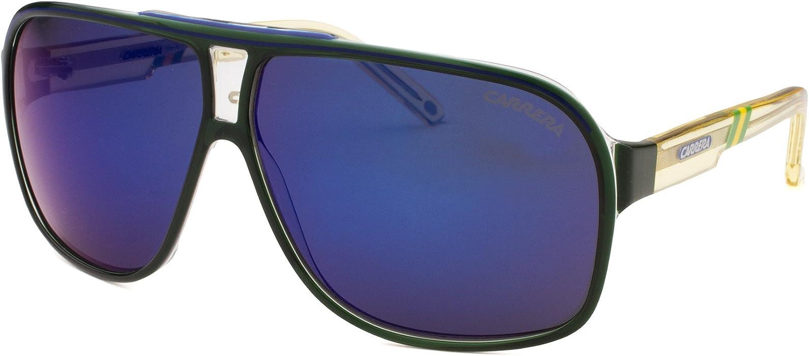 39ffcbf6780 CARRERA GRANDPRIX 2 W C S Sunglasses 0CSU Green Crystal 64-09-130  Amazon.co .uk  Clothing
