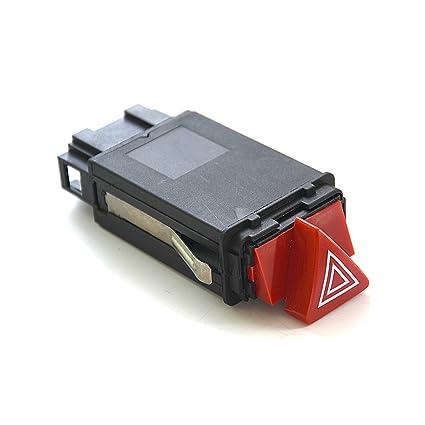 Flyn warnbl Inks Interruptor Luz de advertencia de peligro advertencia de vac/ío Interruptor intermitente emergencia Barrera de luz para Notebook blinke Interruptor 8d0941509h