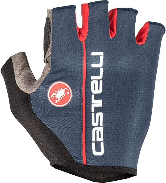 Castelli CIRCUITO Summer Cycling Gloves LUNA GREY//RED