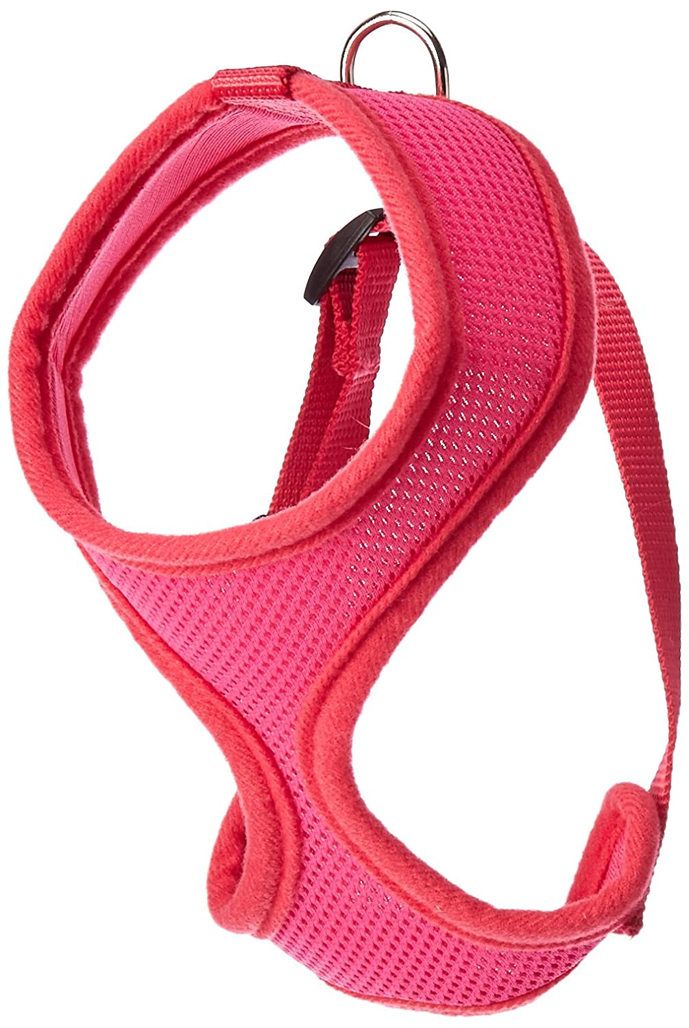 Dog   Cat   Pet Charms Soft Mesh Harnesses Pink Small