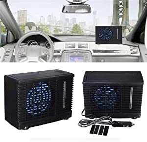 Car Air Conditioner,SHZONS Car Cooling Air Fan,DC12V Air Conditioner Portable Mini Cooling Conditioner,20 x 9.5 x 15cm