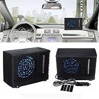 Mobiles Klimageräte,Klimaanlage für Auto,12V Tragbare Mini Klimaanlage Kühler,Kühler Lüfter Wasser Eis Verdunstungs Klimaanlage Auto Zubehör