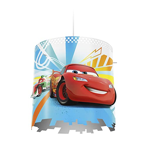Philips Disney Cars Childrenu0027s Ceiling Pendant Lightshade, Multi Colour