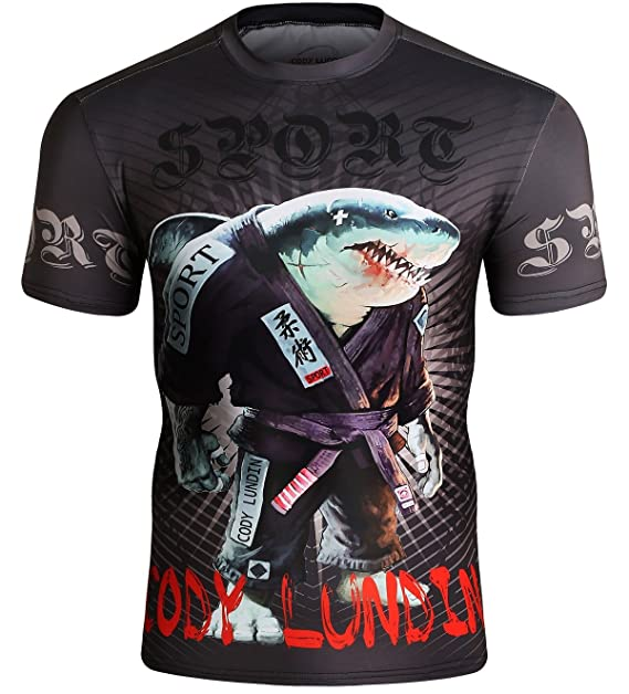 Cody Lundin Camiseta Deportiva Ajustada para Hombre Camiseta para Correr Camiseta de Entrenamiento Ropa Deportiva para Hombres: Amazon.es: Ropa y accesorios
