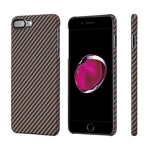 25 opinioni per PITAKA iPhone 8 Plus/iPhone 7 Plus Premium Aramide (Bullet Proof materiale)