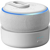 Base de bateria GGMM D3+ para Echo Dot 3ª geração, uso livre Dot 3rd na cozinha, banheiro, varanda ou jardim, Branca…