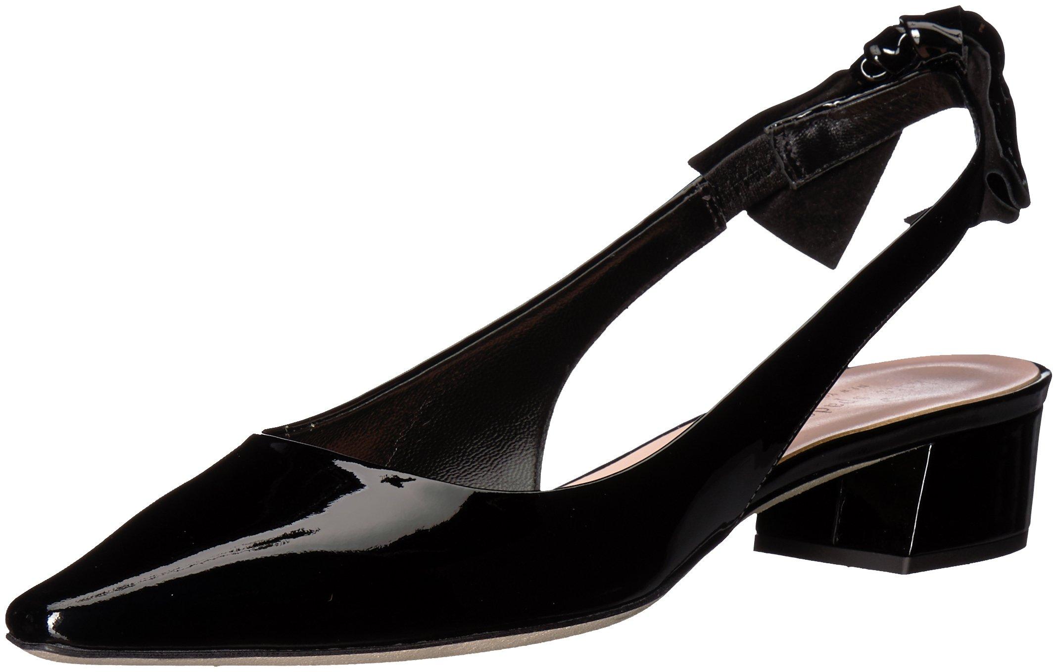 Kate Spade New York Women's Lucia Heeled Sandal, Black Patent, 9 Medium US by Kate Spade New York
