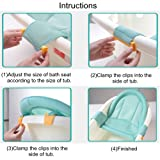 Baby Bath Support Seat, Newborn Shower Mesh For