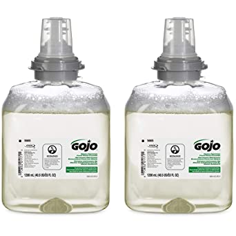 Amazon Com Gojo Green Certified Foam Hand Cleaner Fragrance Free