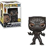 "FunKo POP! Marvel Black Panther 3.75"" CHASE VARIANT Vinyl Figure"