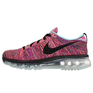 cheap for discount 72b72 cf55f Image Unavailable. Image not available for. Color  Nike Women s WMNS  Flyknit Max, Black Black-COPA-Hyper Orange ...