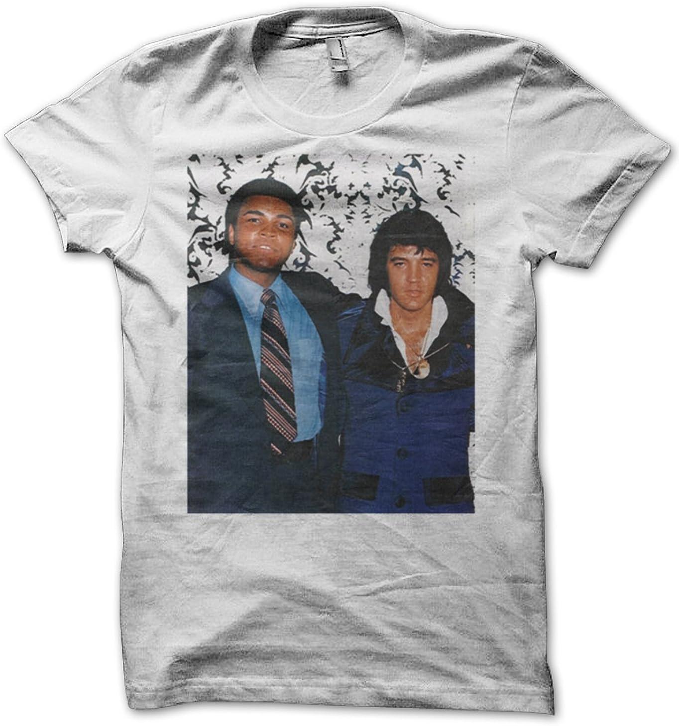 Ali and Elvis - Camiseta blanca para hombre