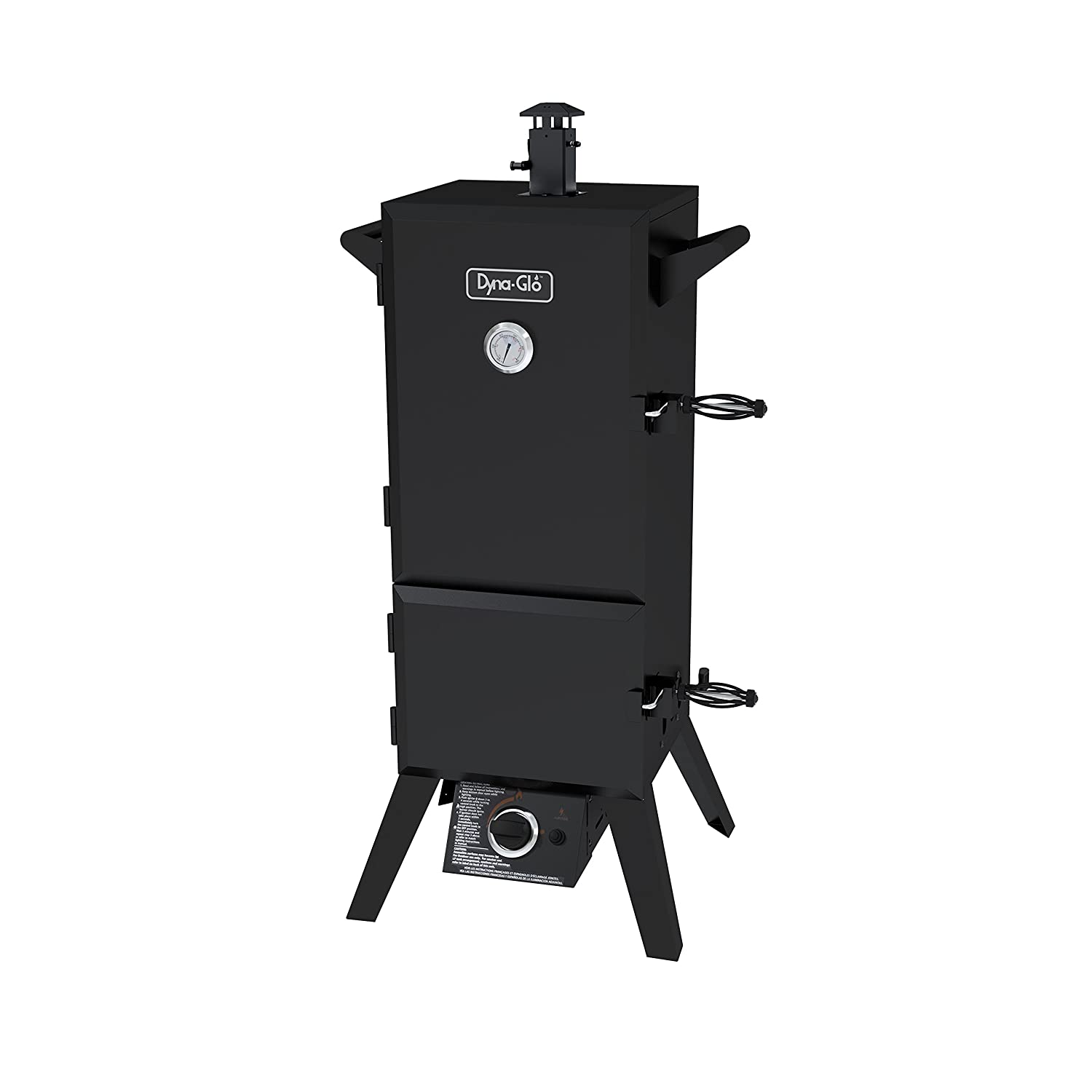 Dyna-Glo DGY784BDP - best propane smoker