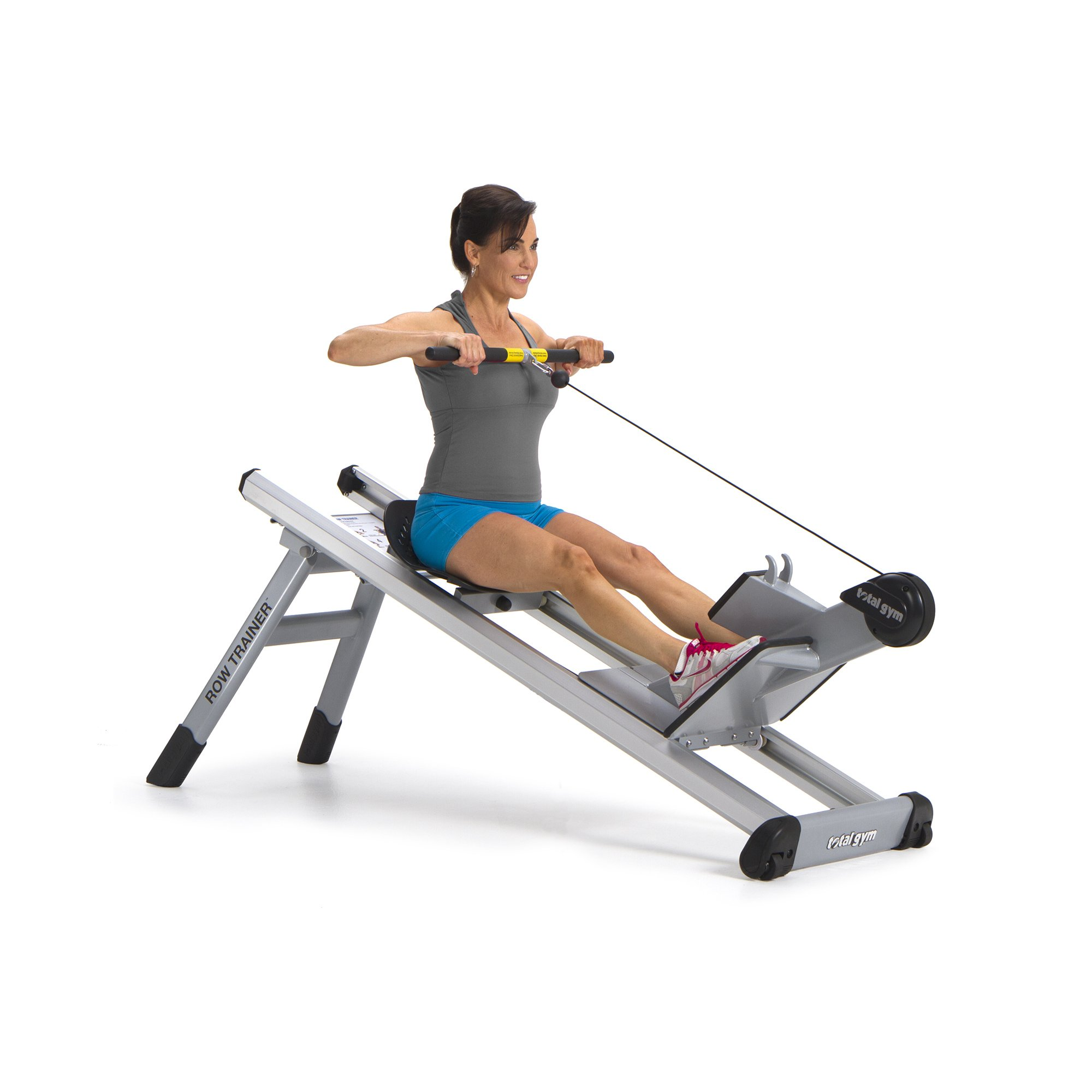 Total Gym Fitness Elevate Circuit Row Trainer Full Body Workout Rowing Machine