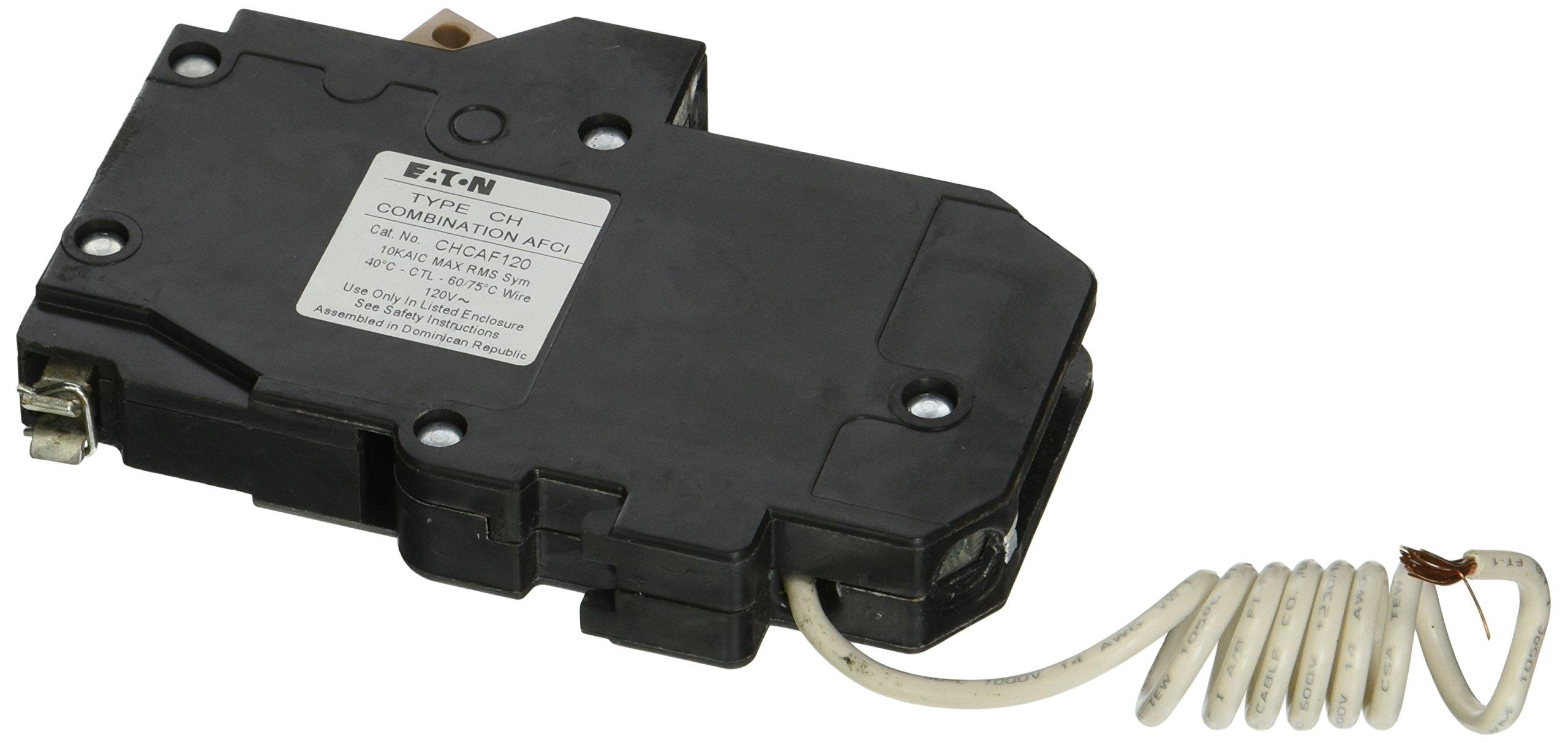 Eaton Corporation Chcaf120 Single Pole Cutler Hammer Combo Arc Fault Circuit Breaker, 20-Amp