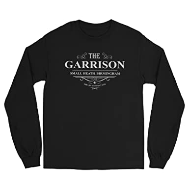 54389c01 Amazon.com: Shelby Company The Garrison Public House Inspired by Peaky  Blinders Tshirt - Mens Long Sleeve Tshirt: Clothing