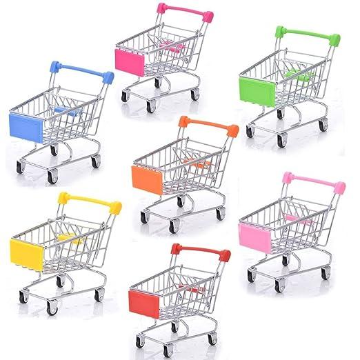 Pequeño carrito de la compra para mascotas, loro pájaros, carrito de la compra, juguete de entrenamiento de inteligencia, carrito de la compra para mascotas ...