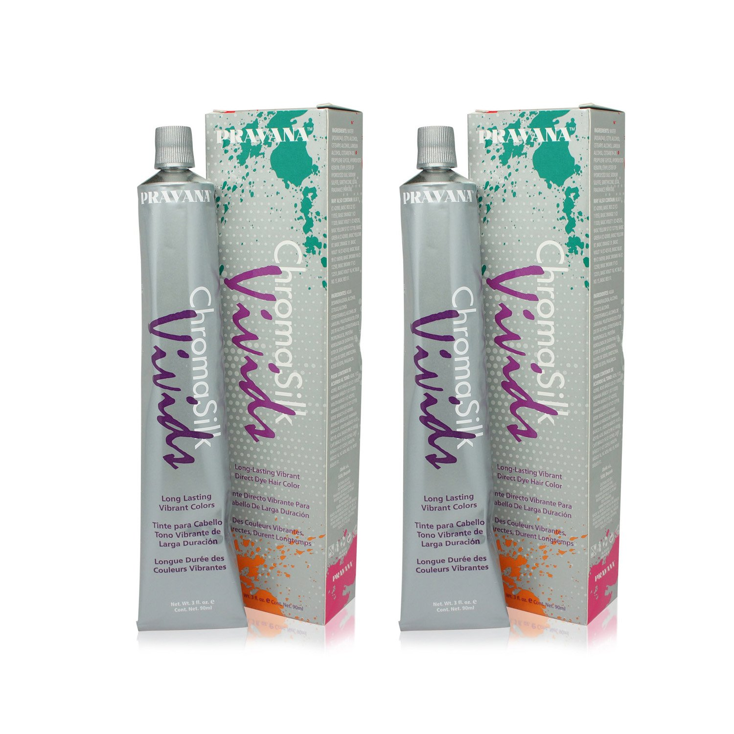 Pravana ChromaSilk Vivids (Locked in Pink), 3 Fl 0z - 2 Pack