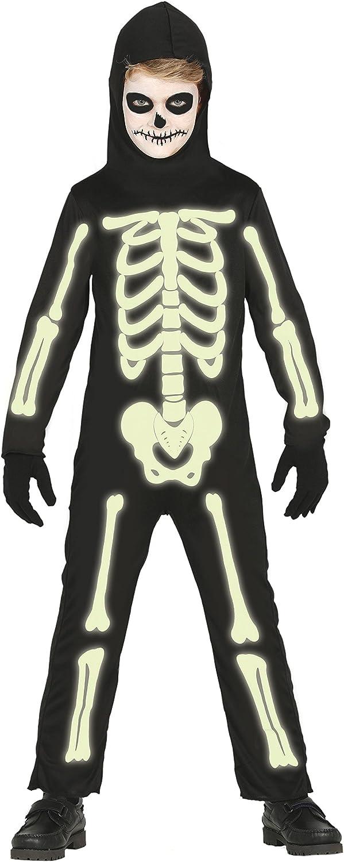 Guirca- Disfraz esqueleto, Talla 7-9 años (87312.0): Amazon.es ...