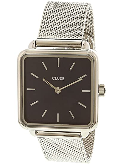 Cluse Reloj Analógico para Mujer de Cuarzo con Correa en Acero Inoxidable CL60011: Amazon.es: Relojes