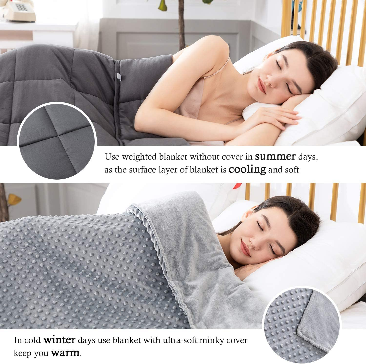 Ultra-Soft Minky Removable Duvet Cover