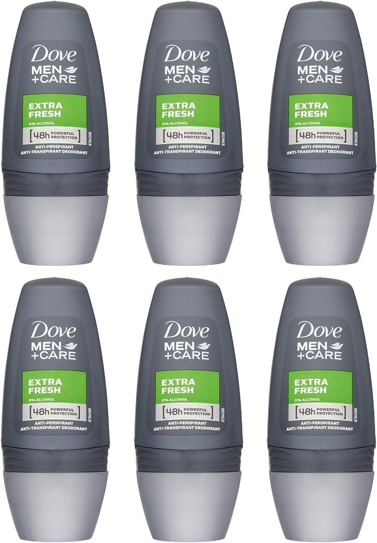 Desodorante para hombre Dove Men Care Clean Comfort, roll on, 50 ml, 6 unidades