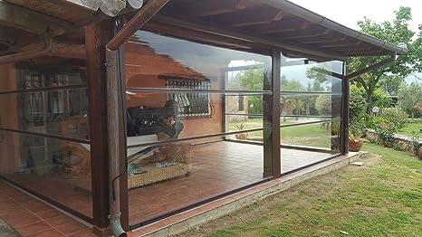 Tende Trasparenti Da Esterno : Moschitella tenda inverno pvc trasparente antipioggia antivento