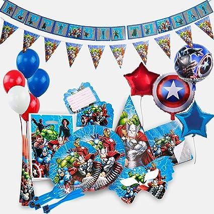 Amazon.com: Suministros para fiesta de cumpleaños de los ...