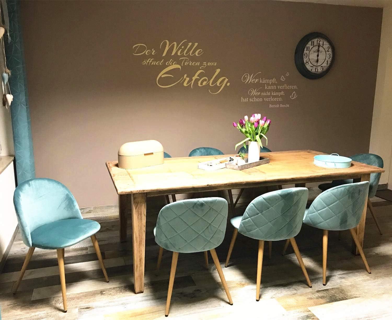 Adatte per Interni ed Esterni WV LeisureMaster Ufficio Pre-assemblate Bianco Stile Industriale Vintage impilabili Giardino Cucina Set di 4 sedie da Pranzo in Metallo casa