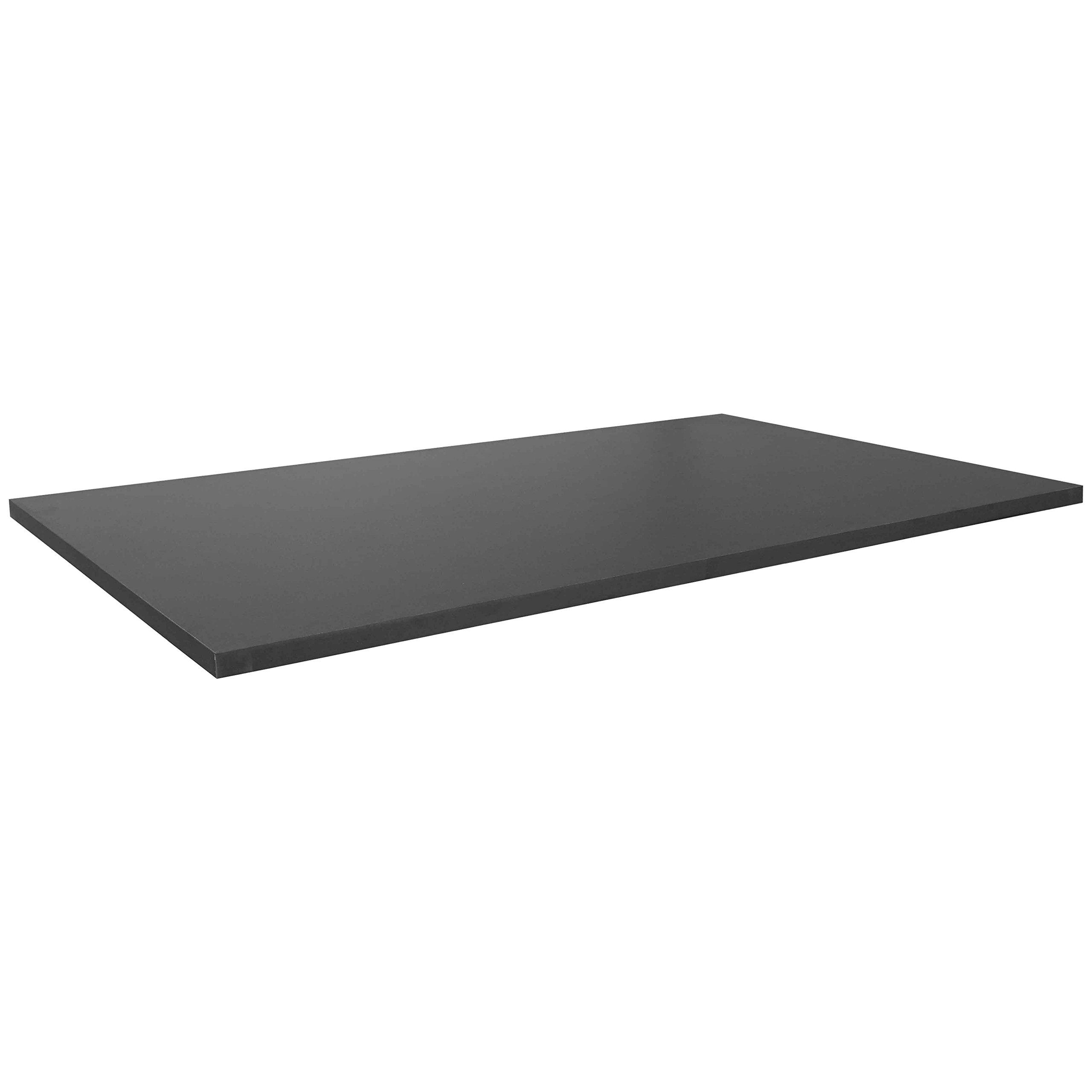 Titan Universal Desk Top - 30'' x 48'' Black